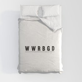 What Would RBG Do? Comforters