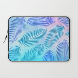 Feathers on Watercolor Background Laptop Sleeve