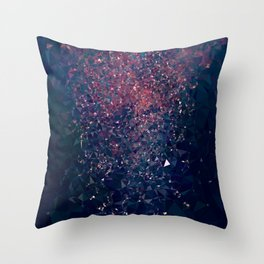 NIGHT DUST Throw Pillow