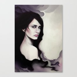 Little Scorpion - Eva Green Canvas Print
