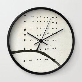 « tempête de neige » Wall Clock
