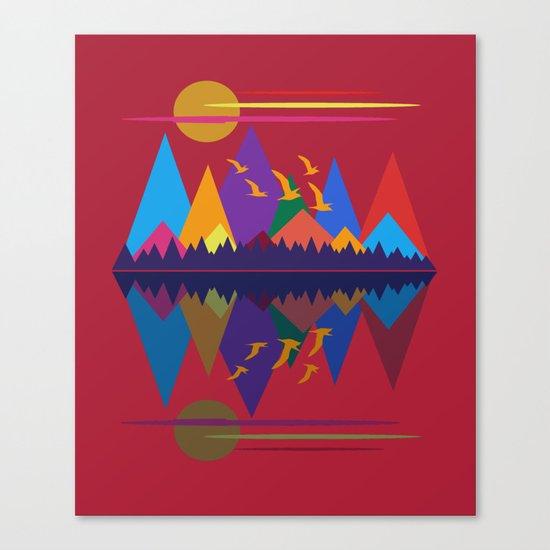 Mountain Scene #9 Canvas Print