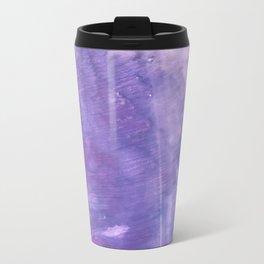 Ube abstract watercolor Travel Mug