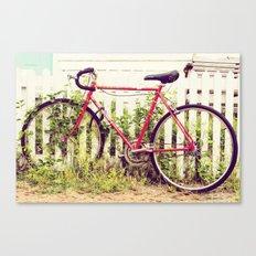Ivy Bike Canvas Print