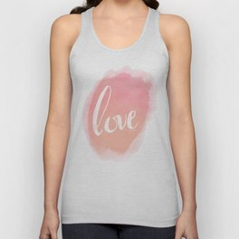 Pretty Love Print With Arrows Unisex Tank Top