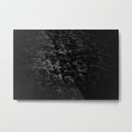 The Foam Metal Print