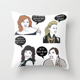 Jersey Girls Throw Pillow
