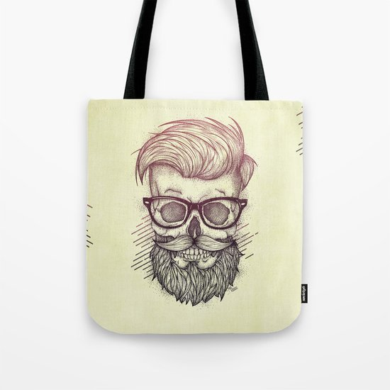 Hipster is Dead Tote Bag