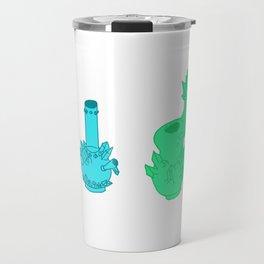 crystal weed pipes Travel Mug