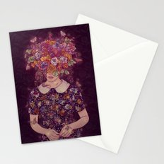 Shy Lady Stationery Cards