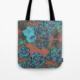 Vintage Bloom Tote Bag
