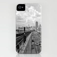 New York From the Seven Train Slim Case iPhone (4, 4s)
