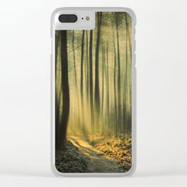 Shaft of Morning Light Clear iPhone Case