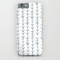 Twigs and branches freeform gray Slim Case iPhone 6s