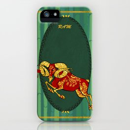 Year of the Sheep iPhone Case