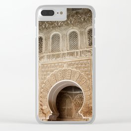 CARVED Clear iPhone Case