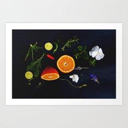 Edible Garden Art Print