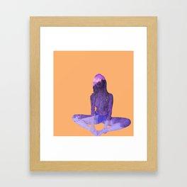 Morning Pose Framed Art Print