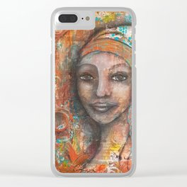 Layers of a Woman Clear iPhone Case