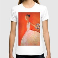 ballerina T-shirts featuring Ballerina by Madison R. Leavelle
