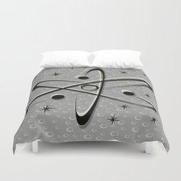 Atomic Love - Lunar Grey Duvet Cover