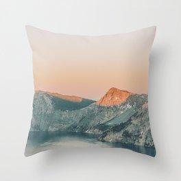 Crater Lake / Oregon Throw Pillow