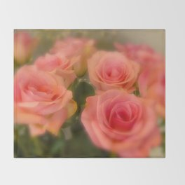 Bed of Roses  Throw Blanket