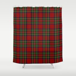 The Royal Stewart Tartan Shower Curtain