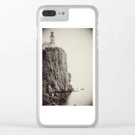 Split Rock Lighthouse in Duluth *Original photography Clear iPhone Case