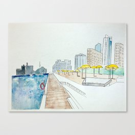 H20 Park Toronto Canvas Print