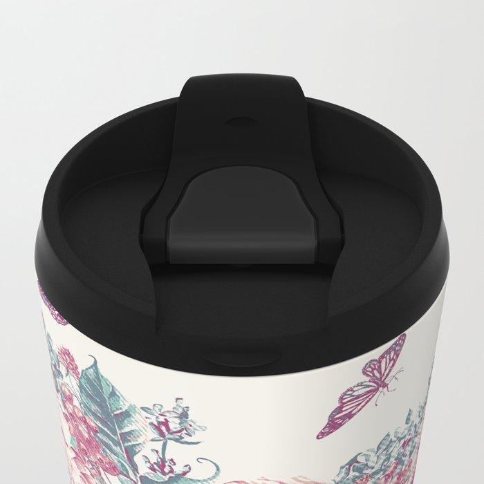 Vintage Garden 21 (Misty Mornings) Metal Travel Mug
