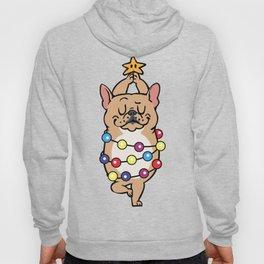 French Bulldog Merry Christmas Hoody