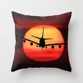 Emotions Fly Throw Pillow