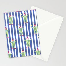 Clown (blue) Stationery Cards