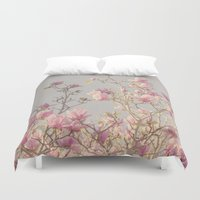 magnolia Duvet Covers featuring Magnolia  by Pure Nature Photos
