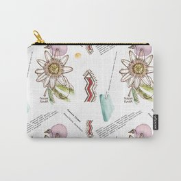 Medicinal Passionflower Carry-All Pouch