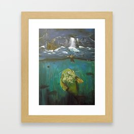 The Fish Framed Art Print