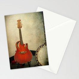 Mandolin and Banjo Stationery Cards