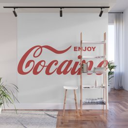 COCAINE Wall Mural