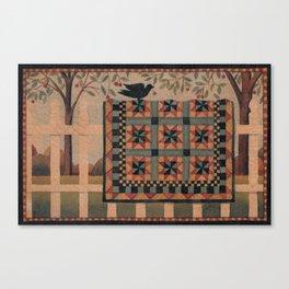 Cherries and Pinwheels Canvas Print