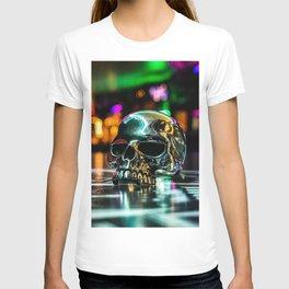 Rainbow Skull Ring T-shirt