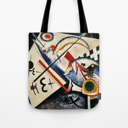 Wassily Kandinsky - White Cross Tote Bag