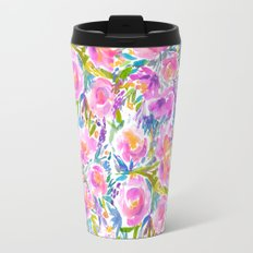 Market Flowers Travel Mug