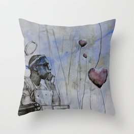 Classic Material Series -  Bleeding Hearts Club (c.2007) Throw Pillow
