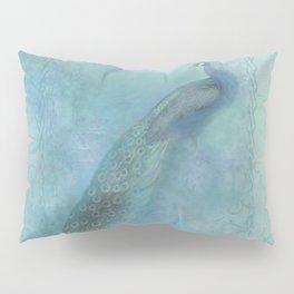 A Magical Peacock Pillow Sham
