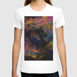 Abstract Nebula K3 T-shirt