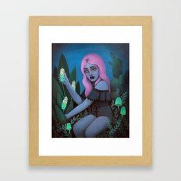 For Toxic Tea Framed Art Print