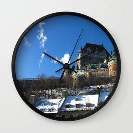 québec city • photography Wall Clock