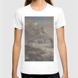 Landscape Chinese - River mountain T-shirt