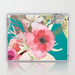 Flowers , floral , shabby chic décor,  flower decor , Laptop & iPad Skin
